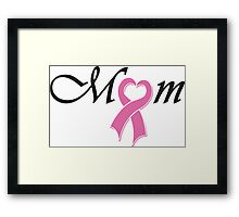 Mom - Mothers day Framed Print