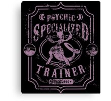 Psychic Specialized Trainer II Canvas Print
