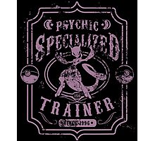Psychic Specialized Trainer II Photographic Print