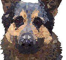 German Shepherd  by artlovepassion