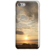 sunset from wh lighthouse, ri iPhone Case/Skin