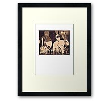 Don't Try This At Home c. 1940 Framed Print