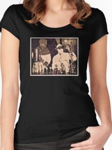 Don't Try This At Home c. 1940 Women's Fitted Scoop T-Shirt