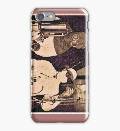 Don't Try This At Home c. 1940 iPhone Case/Skin