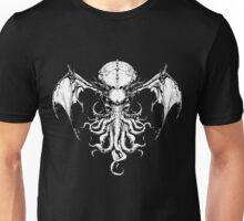 Cthulhu-Sumi (B&W version) Unisex T-Shirt