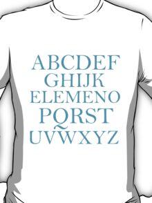 ALPHABET SONG T-Shirt
