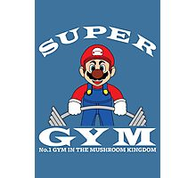 Super Gym Photographic Print