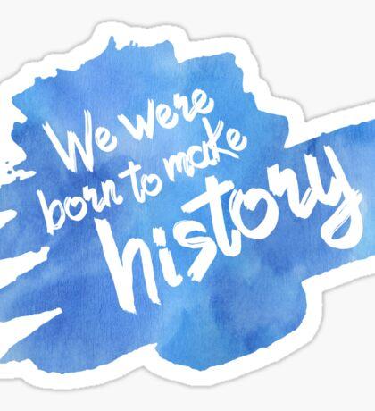 History Maker [Yuri on Ice] Sticker