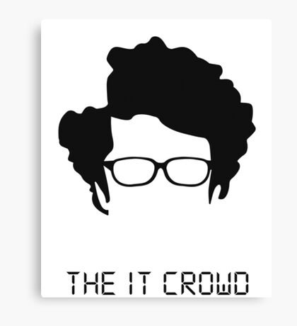 THE IT CROWD + NAME Canvas Print