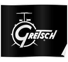 Gretsch. Poster