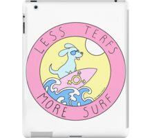 LESS TERFS MORE SURF iPad Case/Skin