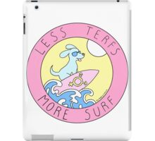 LESS TERFS MORE SURF iPad Case/Skin