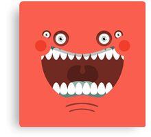 The Monsterrataz: Mr. Tubby J. Monster Canvas Print