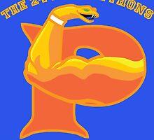 The 24-Inch Pythons by karmatornado