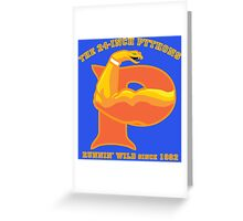 The 24-Inch Pythons Greeting Card