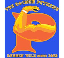 The 24-Inch Pythons Photographic Print