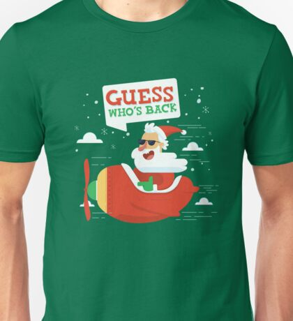 Merry Chrismas Oldman Ugly Sweater Xmas  Unisex T-Shirt