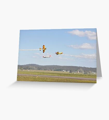 Kempsey Air Show, Australia 2016 - opposition pass Greeting Card