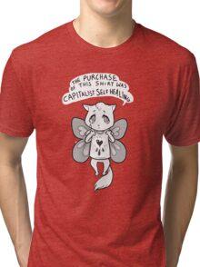 capitalist self healing cat Tri-blend T-Shirt