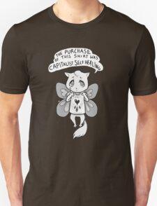 capitalist self healing cat Unisex T-Shirt
