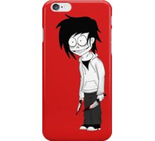 Jeff the Killer Cartoon iPhone Case/Skin