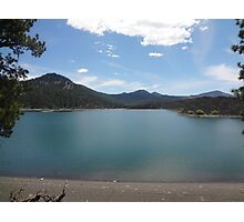 Summer Day at Butte Lake Photographic Print
