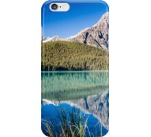 Mount Chephren and Waterfowl Lakes iPhone Case/Skin