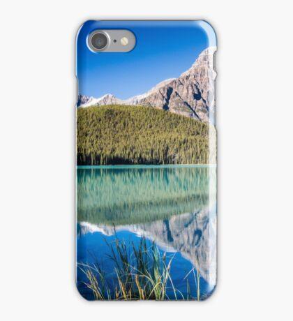 Mount Chephren and Waterfowl Lakes iPhone Case/Skin