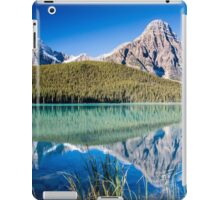 Mount Chephren and Waterfowl Lakes iPad Case/Skin