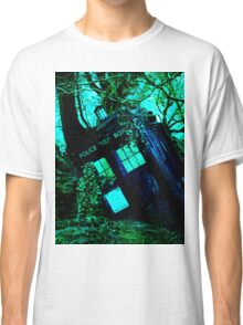 tardis-chested in the woods Classic T-Shirt