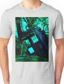 tardis-chested in the woods Unisex T-Shirt