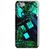 tardis-chested in the woods iPhone Case/Skin
