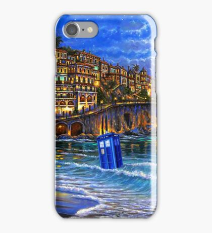 tardis beached iPhone Case/Skin
