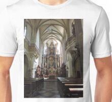 Kutna Hora, Czech Republic, St James Church, Interior Unisex T-Shirt