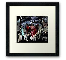VAMPIRE DREAMS Framed Print
