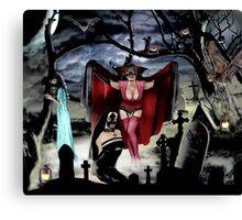 VAMPIRE DREAMS Canvas Print