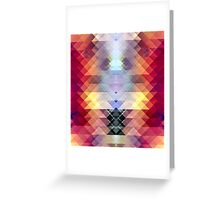 Abstract Geometric Spectrum 2 Greeting Card