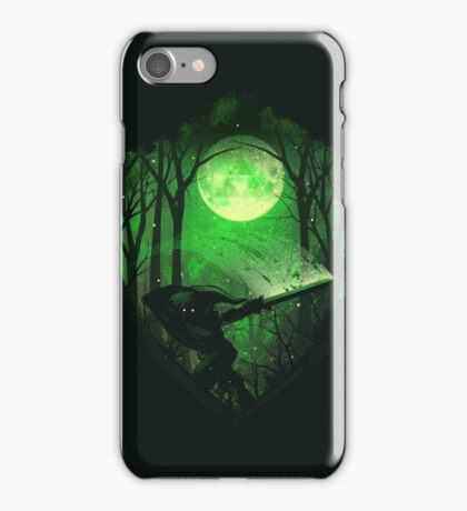 zelda shield iPhone Case/Skin