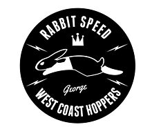Rabbit Speed George One sticker by Mistersid