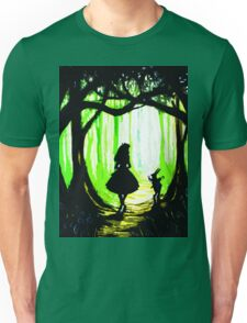 daughter and rabbits Unisex T-Shirt