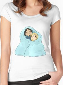 yumikuri cuddles [SnK] Women's Fitted Scoop T-Shirt