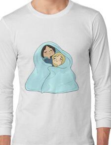 yumikuri cuddles [SnK] Long Sleeve T-Shirt