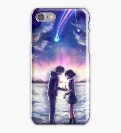 Your Name writing iPhone Case/Skin