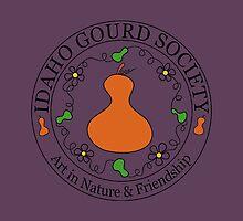 IDGS - Idaho Gourd Society Logo Pillows & Totes - Eggplant by Subwaysign