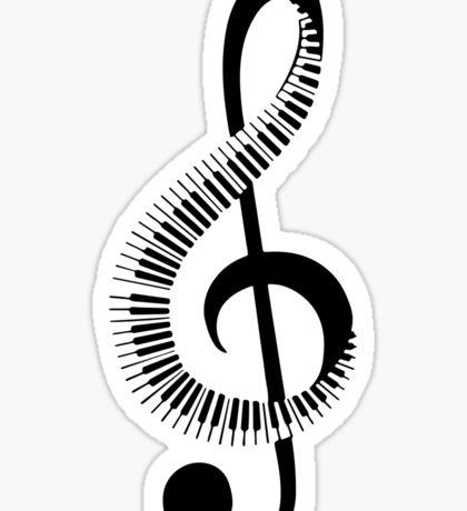 piano, note Sticker