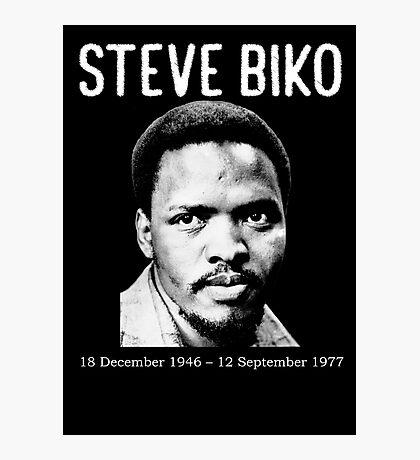 Memorable Steve Biko Photographic Print