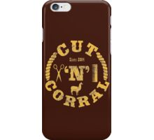 Cut 'N' Corral iPhone Case/Skin