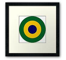 Brazilian Navy Aviation Roundel  Framed Print