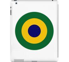 Brazilian Navy Aviation Roundel  iPad Case/Skin