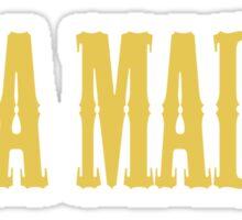 REAL MADRID - Hala Madrid Sticker